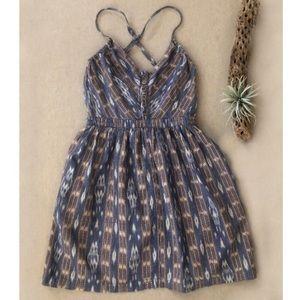 UO Ecote Tribal Print Mini Dress sz S